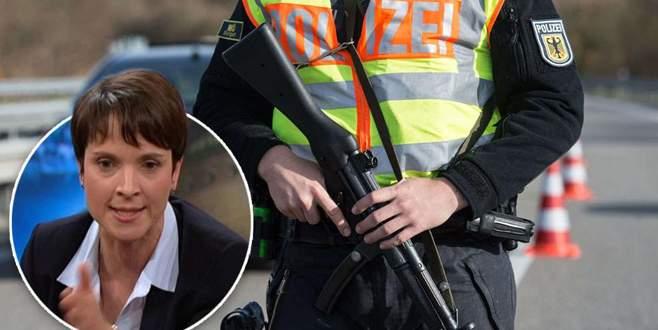 'Polis sığınmacıları vurabilir!'