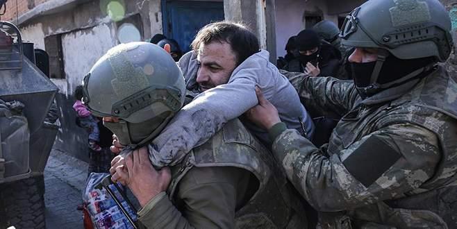 Terör mağduru ailenin imdadına Mehmetçik yetişti