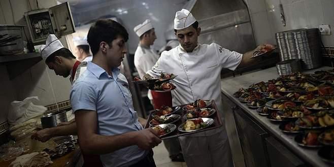 Turistler 'yeme içme'ye 6,2 milyar dolar harcadı
