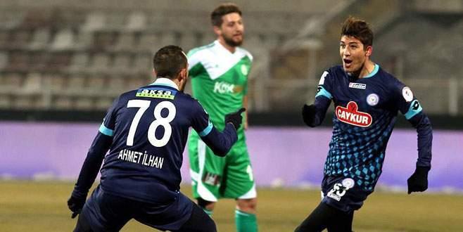 Çaykur Rizespor Türkiye Kupası'nda çeyrek finalde