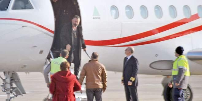 Özel uçakla Bursa'ya!