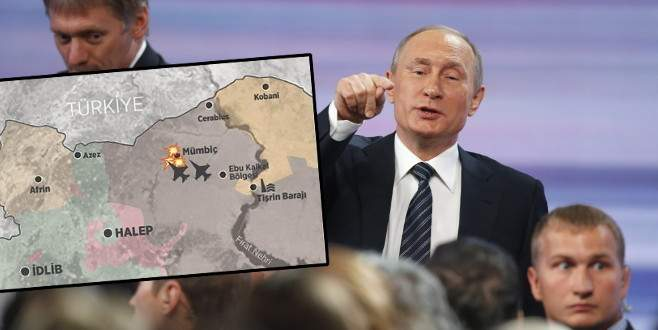 Rusya'dan PYD'ye Fırat'ın batısında hava desteği