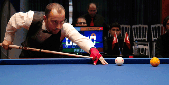 Dünya Bilardo Kupası Bursa'da başladı