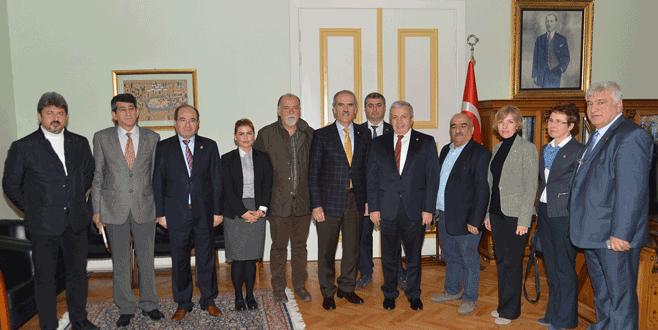 CHP'den Başkan Altepe'ye ziyaret