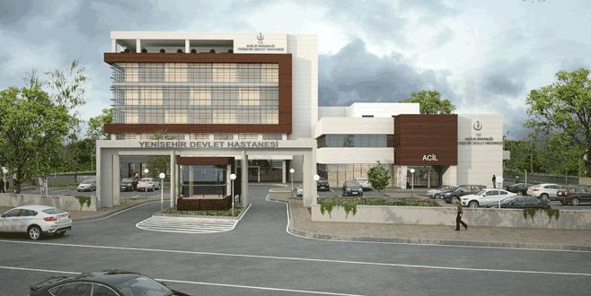 Yenişehir'e modern hastane