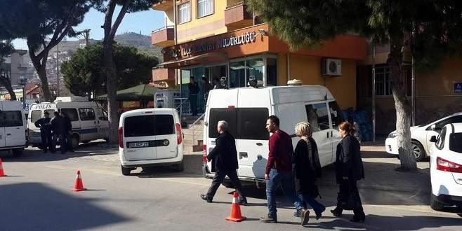 Otogarda canlı bomba yakalandı