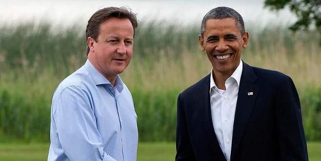 Obama Cameron ile Suriye meselesini görüştü