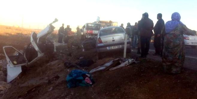 Feci kaza: 5 ölü, 2 yaralı