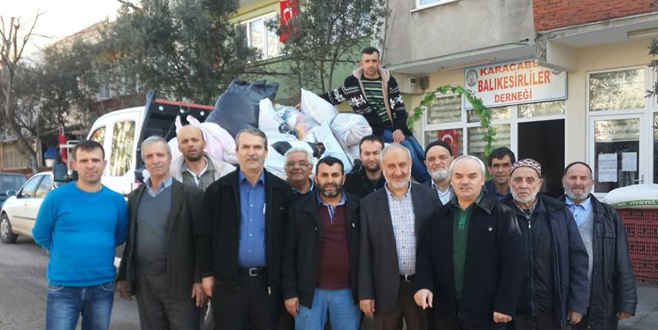 BALDER'den Bayırbucak Türkmenleri'ne yardım