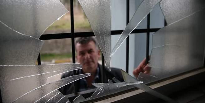 Bursa'da spor kulübü tesislerine ve stadyuma saldırı
