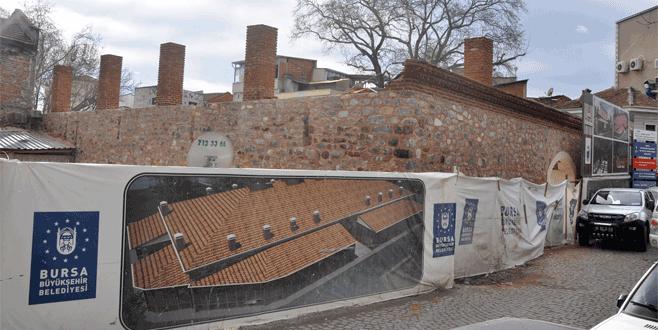Bursa'da tarih yeniden ayağa kalkıyor