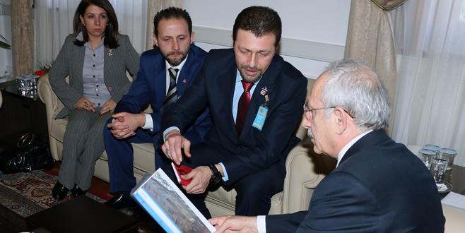 Kılıçdaroğlu'na dosya sundular