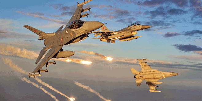 Kuzey Irak'a ikinci operasyon! 4 PKK kampı vuruldu