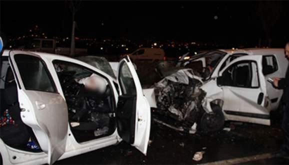 Ankara'da trafik kazası: 5 ölü