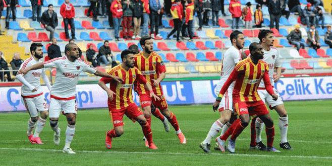 Kayserispor 0-1 Mersin İdman Yurdu