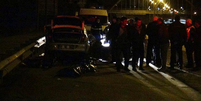 Cumhuriyet savcısı, iki arkadaşıyla birlikte kazada öldü