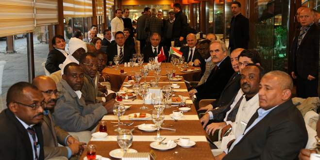 Bakan Ala Sudanlı başkanlarla buluştu