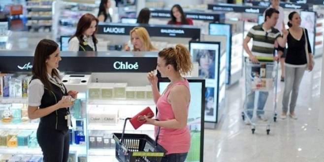 Gümrüksüz alışverişe 1,1 milyar Euro