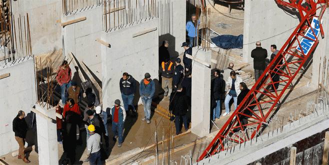 Emniyet müdürlüğü inşaatında vinç kazası: 1 ölü