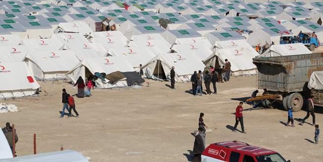 Türkiye Suriye'de çadır kent kuruyor