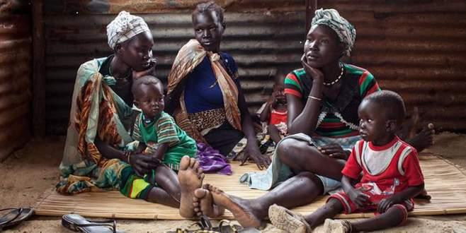 Güney Sudanlılar açlıkla mücadele ediyor