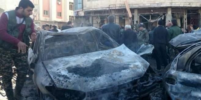 Polis lokaline bomba yüklü araçla saldırı