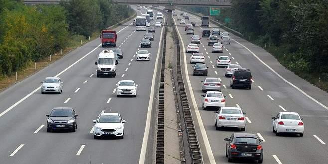 Trafiğe kayıtlı araç sayısı 20 milyona dayandı