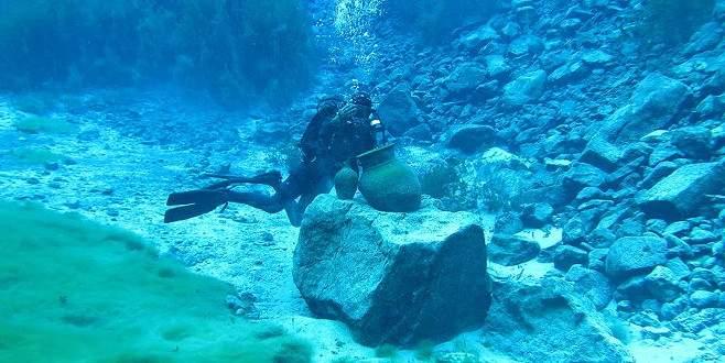 'Doğal akvaryum' balık adamların gözdesi oldu