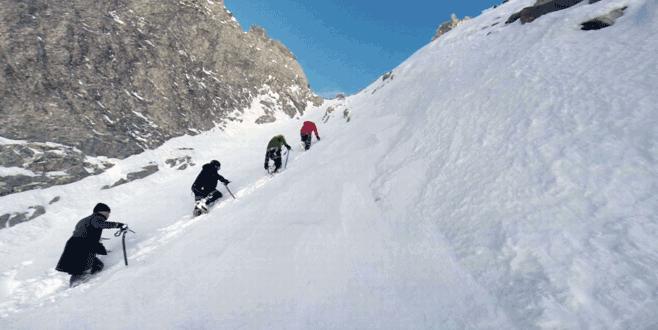 Bursalı dağcılar Alpler'e tırmanacak