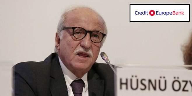 Özyeğin'den Credit Europe Bank açıklaması