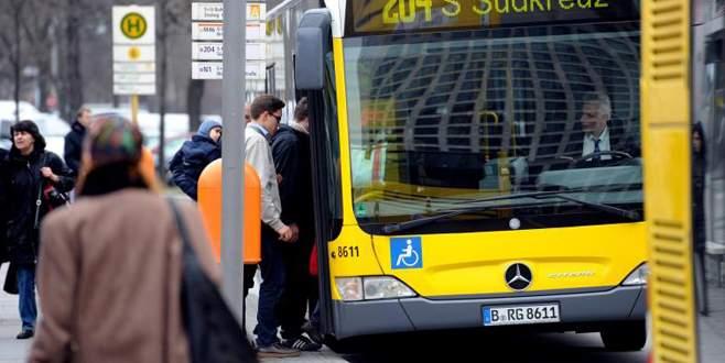 Otobüste döner skandalı