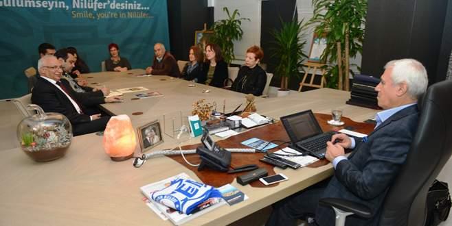 NKK yönetiminden Bozbey'e ziyaret