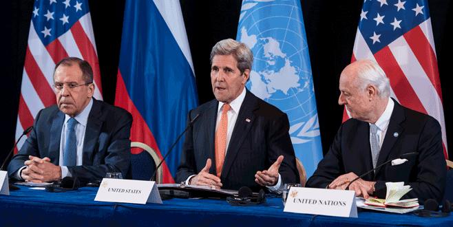 ABD ve Rusya 'Suriye'de ateşkes' için uzlaştı