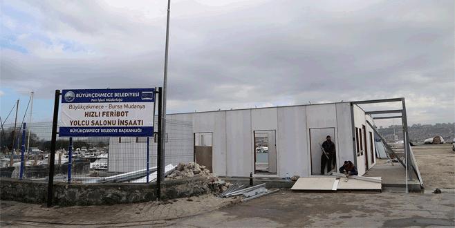 Mudanya-Büyükçekmece seferleri gün sayıyor