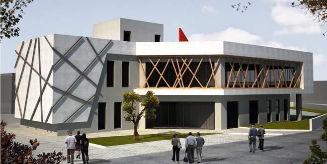 Çakırca'ya hizmet binası