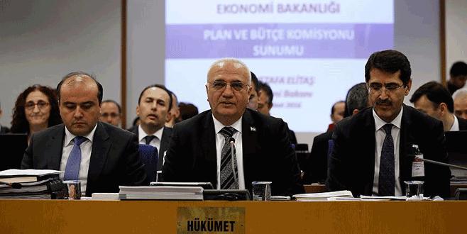 Ekonomi Bakanı Elitaş: 2015 yılı cari açığı son 6 yılın en düşüğüdür