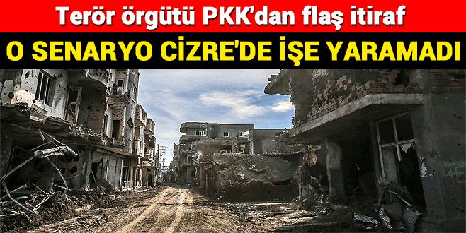 Kobani'deki senaryo Cizre'de işe yaramadı