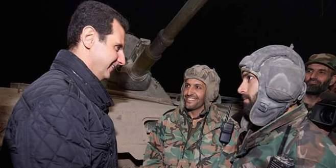 Esad güçleri ilerliyor