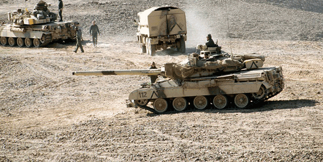 Suudi Arabistan'da askeri dev tatbikat!