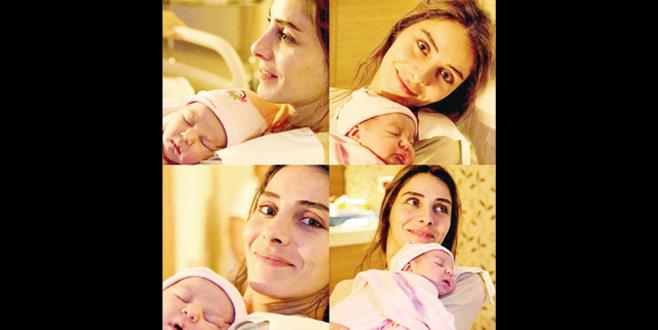 İşte Nur'un bebeği
