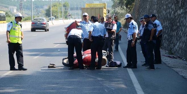 Bursa'daki motosiklet kazasında karar