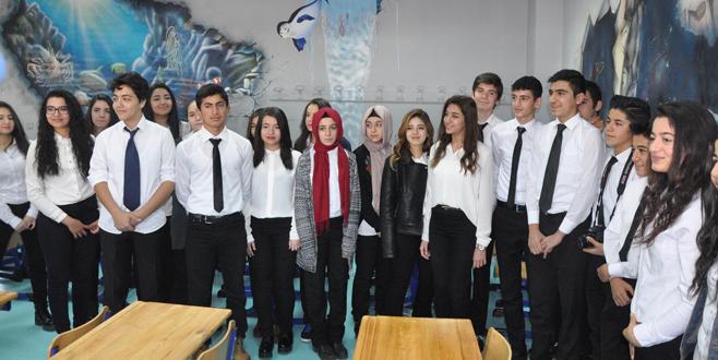 Türkiye'de bir 3 boyutlu sınıf