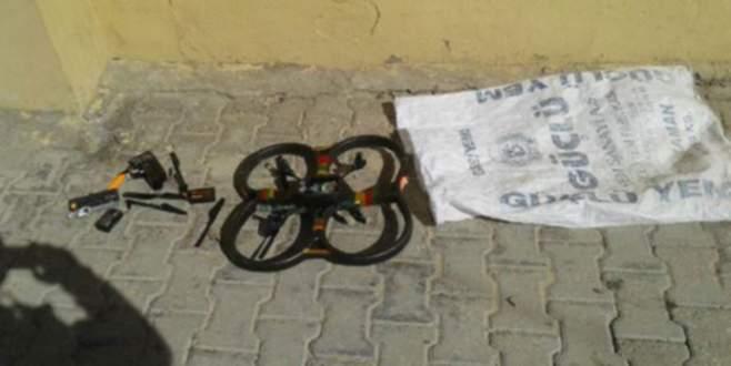 Cizre'de drone ele geçirildi!