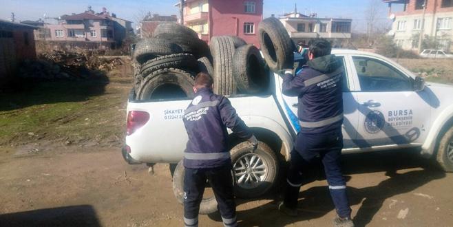 Yenişehir'de sinekle mücadele