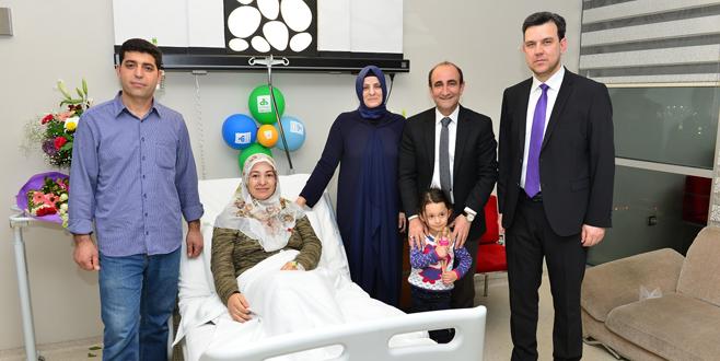 Başkan Edebali'den beşizlere ziyaret