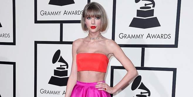 Grammy'ye Taylor Swift damgası