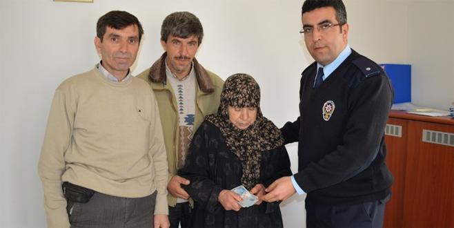 Bursa'da esnaftan örnek hareket