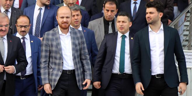 Bilal Erdoğan Bursa'da İmam Hatip mezunları toplantısına katıldı