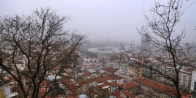 Bursa'da sis etkisi