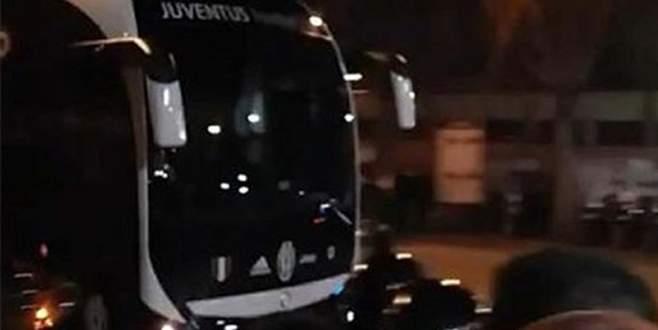 Juventus otobüsüne saldırı